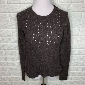 Free People Crew Neck Knit Sweater